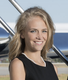 Caroline Gould, Sales at Amjet Aviation